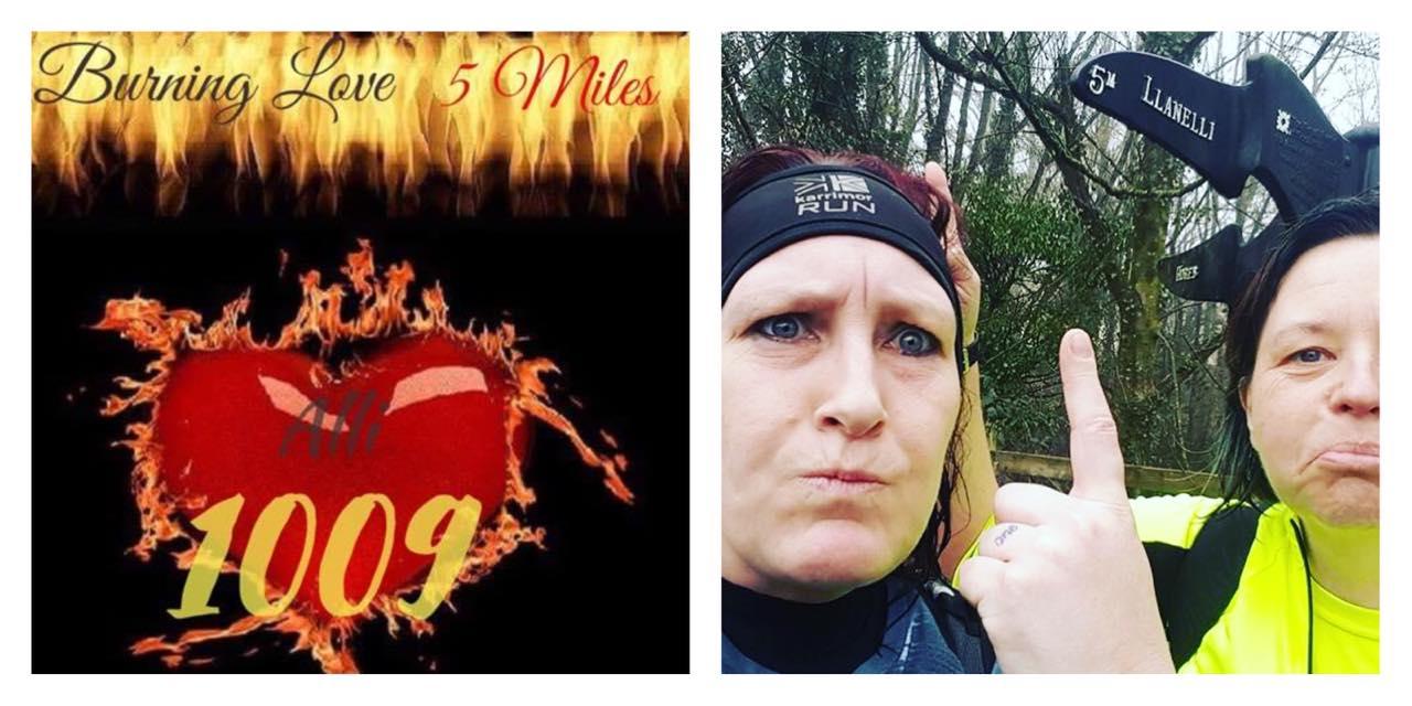 Burning Love 5 Miles