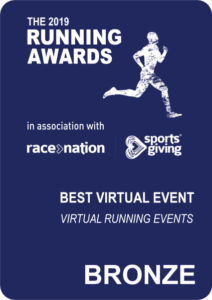 virtual running bronze award