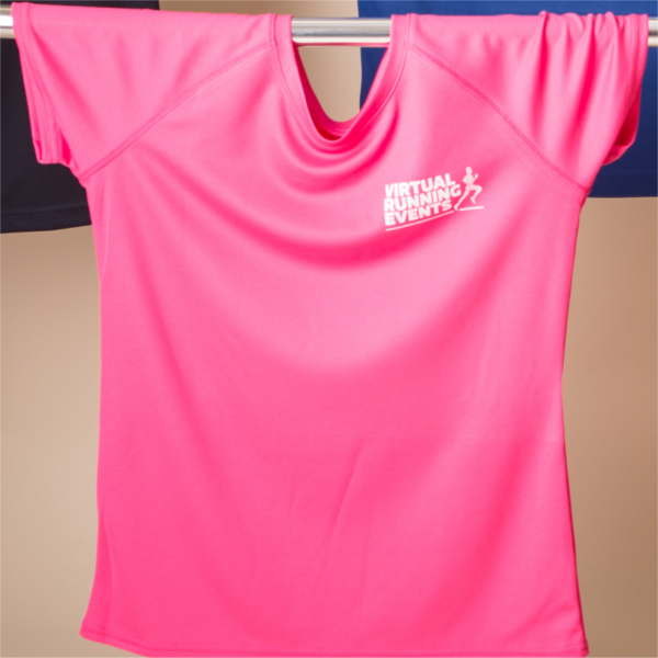 ladies virtual running events running tshirt